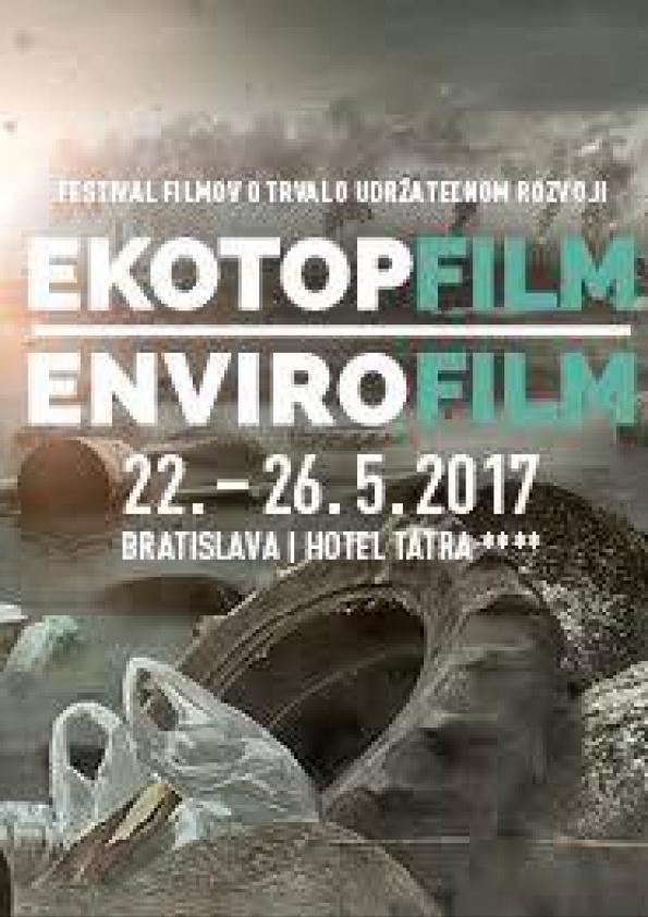Výsledok vyhľadávania obrázkov pre dopyt Ekotopfilm – Envirofilm 2017,