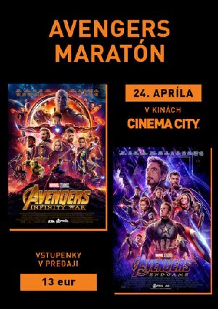 72118cdc8 Avengers Maratón | CITYLIFE