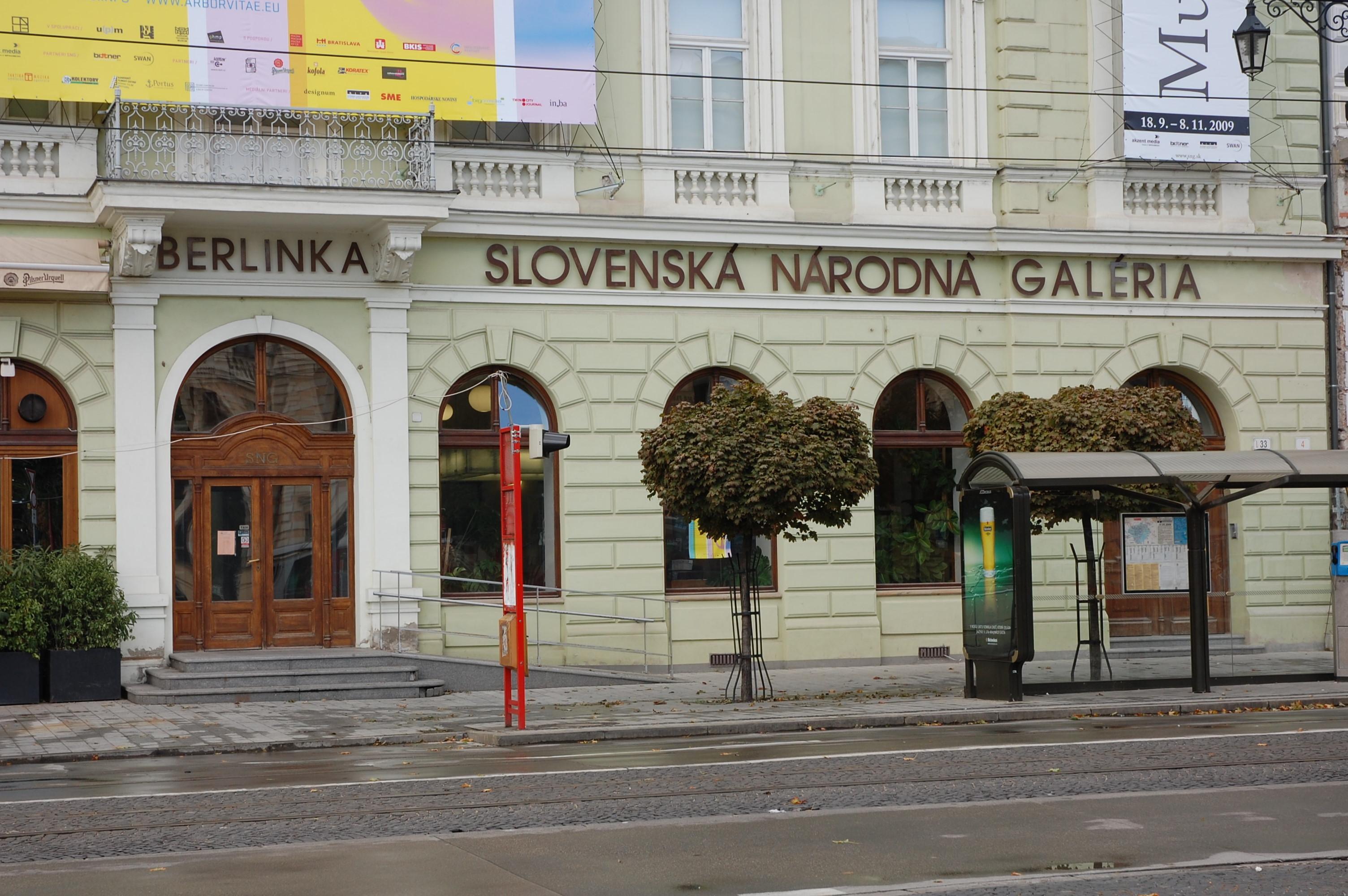 Slovensk n rodn gal ria bratislava citylife for Design hotel 21 bratislava kontakt